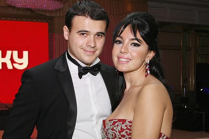 Эмин Агаларов и Лейла Алиева. / Фото: www.kpcdn.net