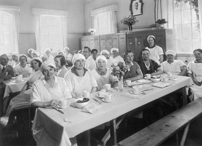 Образцовая фабрика по производству маргарина в северной Германии, 1938 г. / Фото: www.gettyimages.com