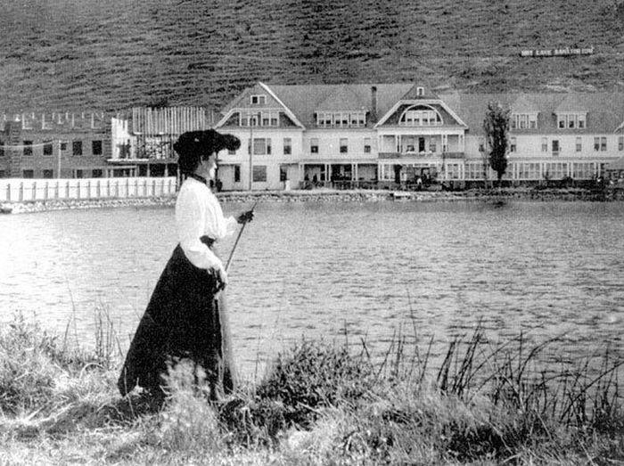 Hot Lake Hotel, начало ХХ века. / Фото: www.thatoregonlife.com
