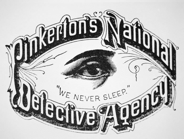 Алан Пинкертон: «Мы никогда не спим». / Фото: www.april-knows.ru