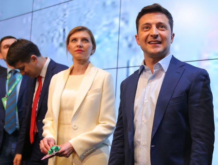 Владимир и Елена Зеленские. / Фото: www.rbk.ru