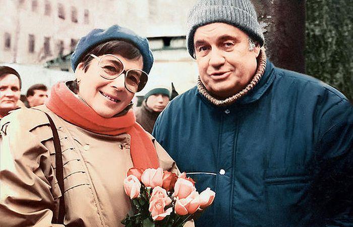 Эльдар Рязанов и Нина Скуйбина. / Фото: www.7days.ru