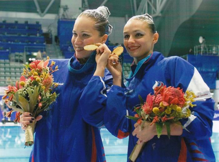 Мария Киселёва и Ольга Брусникина - олимпийские чемпионки. / Фото: www.goprosport.ru