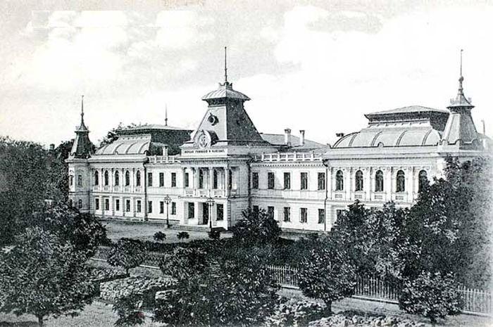 Кишинёвская гимназия. / Фото: www.wikipedia.org