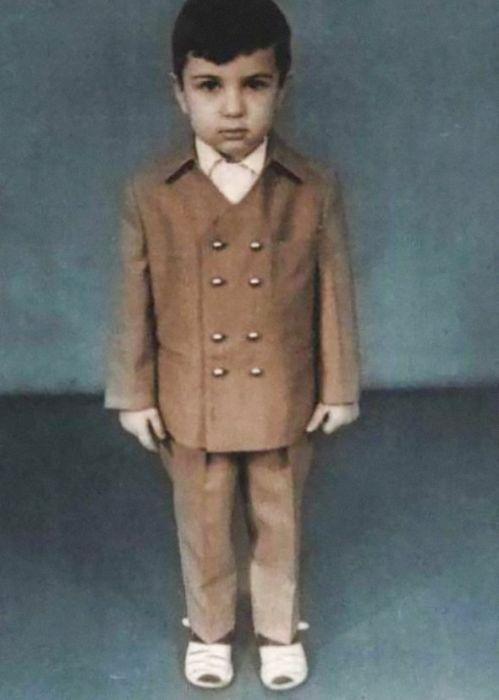 Евгений Гришковец в детстве. / Фото: www.mel.fm
