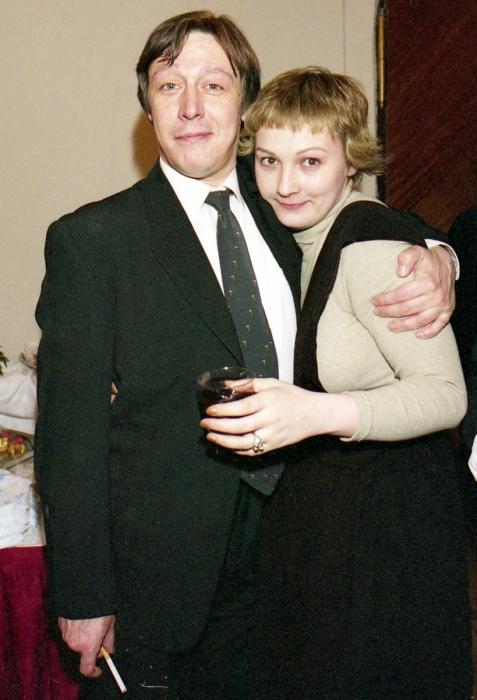 Ксения Качалина и Михаил Ефремов. / Фото: www.domashnyochag.ru