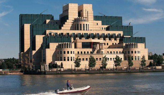 Новые офисы MI5 Лондоне. / Фото: www.rcinet.ca