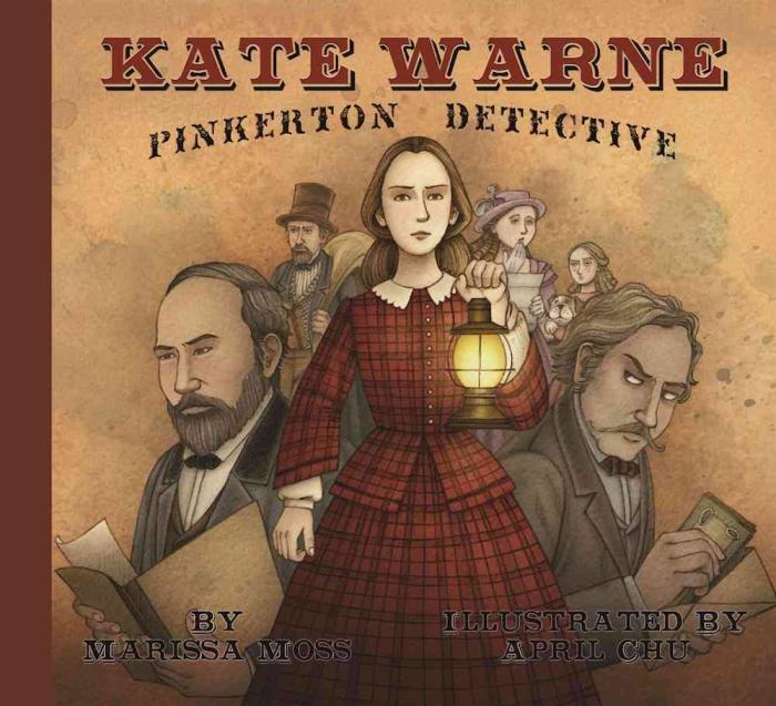 Книга Мариссы Мосс, посвящённая Кейт Уорн. / Фото: www.blogspot.com