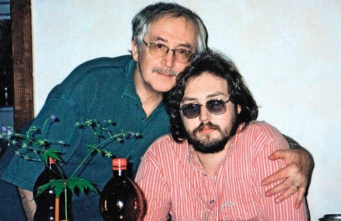 Василий Ливанов с сыном. / Фото: www.kino-teatr.ru