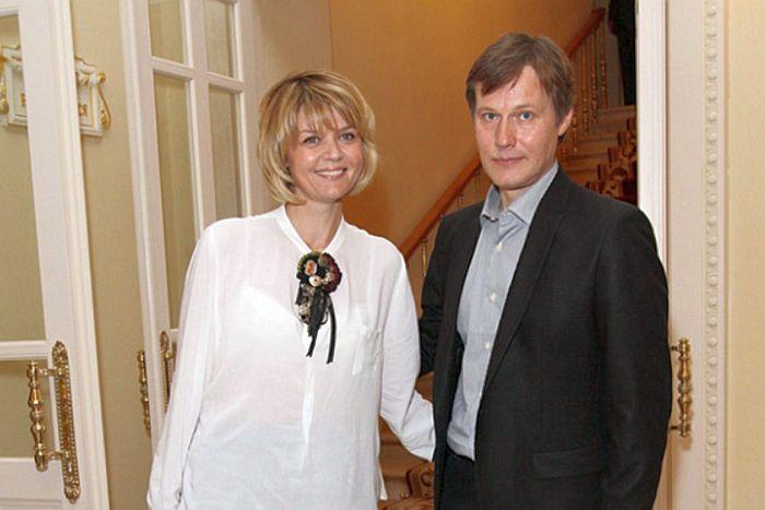 Юлия Меньшова и Игорь Гордин. / Фото: www.globalmsk.ru