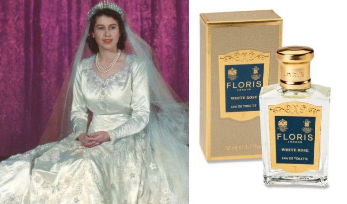 Елизавета II - «White Rose» Floris.
