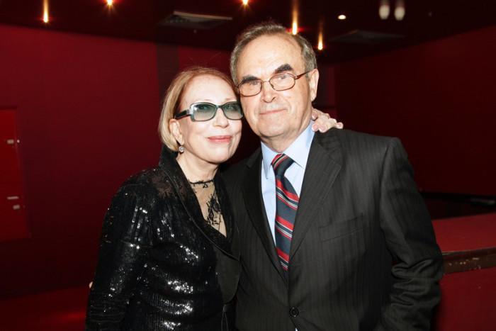 Глеб Панфилов и Инна Чурикова. / Фото: www.woman.ru