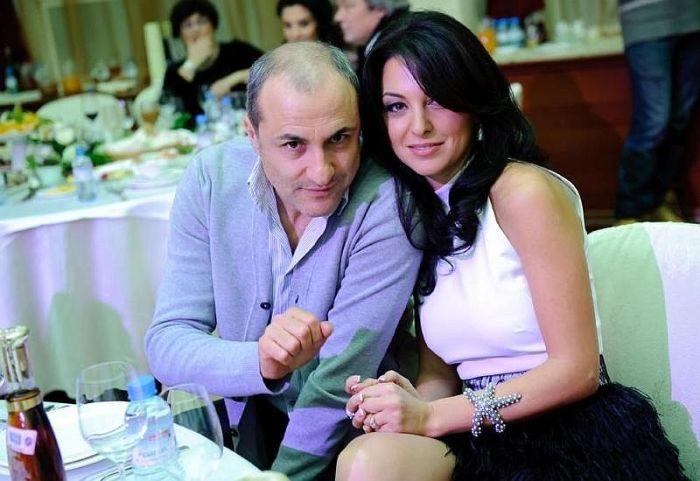 Михаил Турецкий и его Лиана. / Фото: www.woman.ru