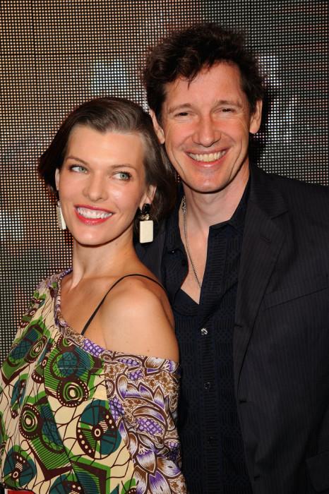 Милла Йовович и Пол Андерсон. / Фото: www.woman.ru