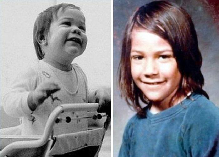 Киану Ривз в детстве. / Фото: www.ladymega.ru