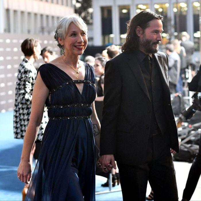 Киану Ривз и Александра Грант. / Фото: www.elle.com