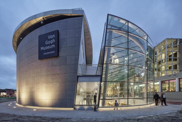Музей Ван Гога. / Фото: www.aasarchitecture.com