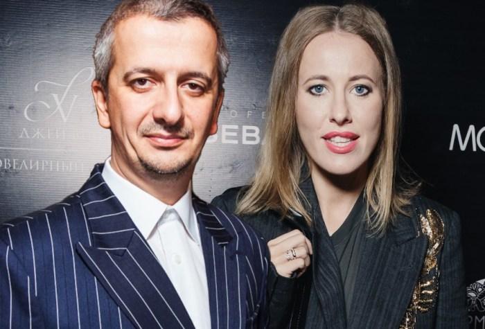 Ксения Собчак и Константин Богомолов. / Фото: www.peopletalk.ru