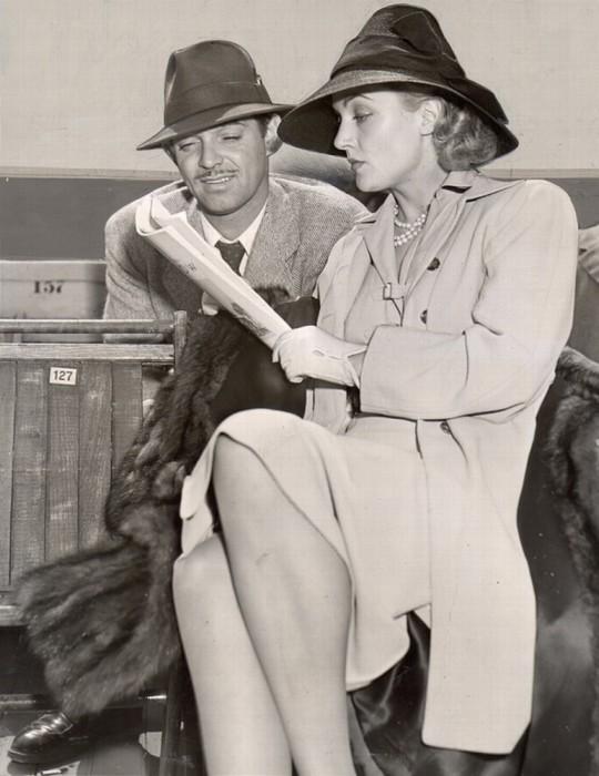 Кларк Гейбл и Кэрол Ломбард. / Фото: www.livejournal.com