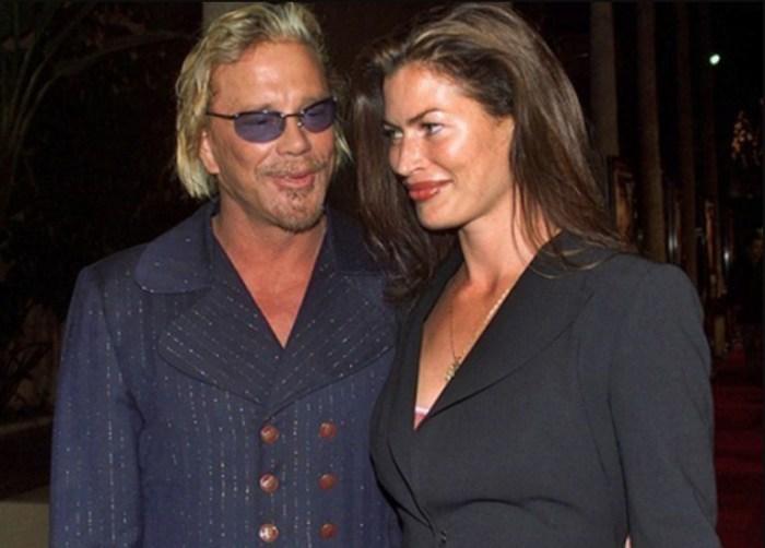 Микки Рурк и Кэрри Отис. / Фото: www.womanadvice.ru