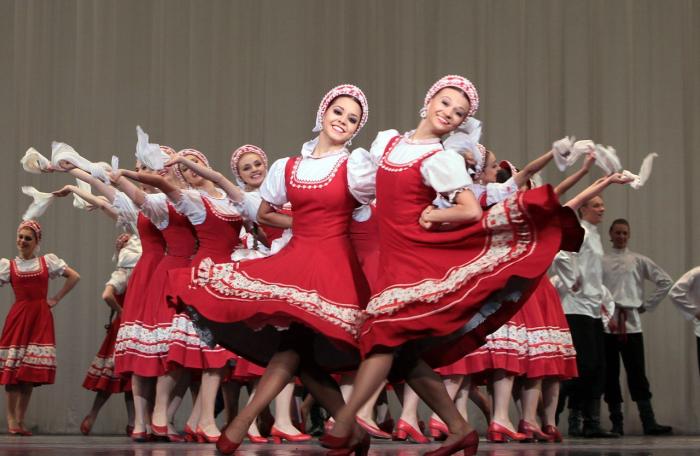 В детстве Ирина мечтала танцевать в ансамбле Моисеева. / Фото: www.culture.ru