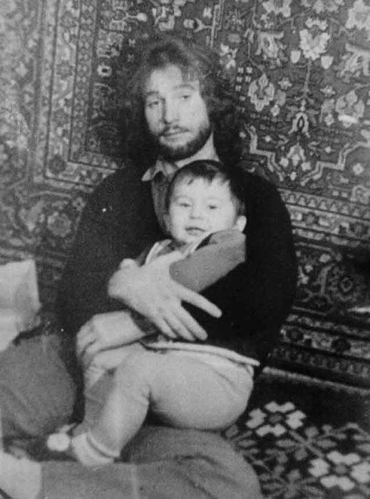 Игорь Тальков с сыном. / Фото: www.ampravda.ru