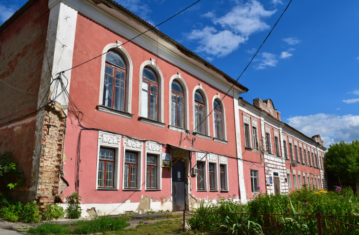 Бывшее здание банка Ивана Рыкова. / Фото: www.wikimedia.org