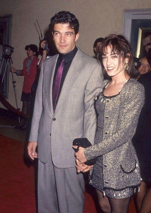 Антонио Бандерас и Ана Леса. / Фото: www.pinimg.com