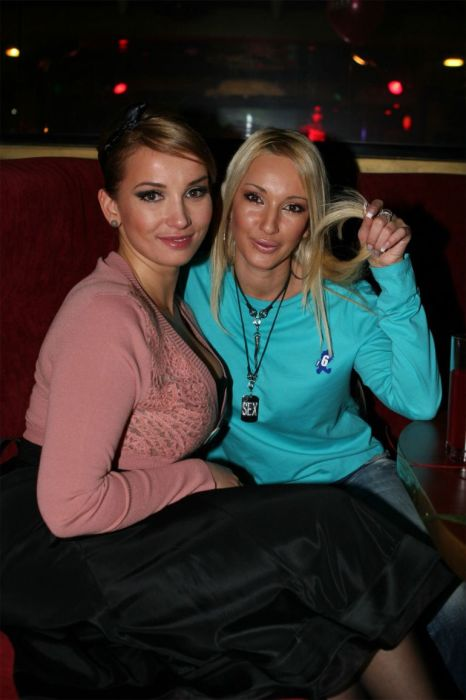 Лера Кудрявцева и Анфиса Чехова. / Фото: www.warnet.ws
