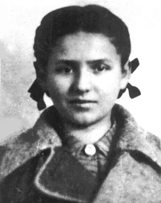 Фаня – Фейга Фишман, 1944 год. / Фото: www.7iskusstv.com