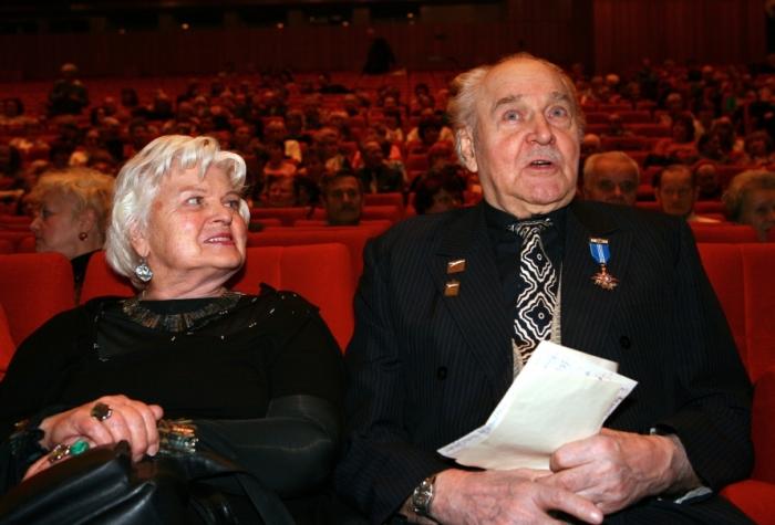 Владлен Давыдов и Маргарита Анастасьева. / Фото: www.mr-7.ru