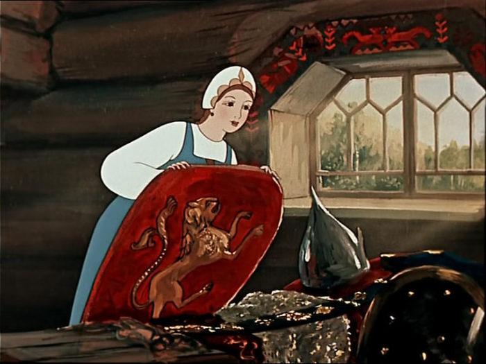 Кадр из мультфильма «Сказка о мёртвой царевне и о семи богатырях». / Фото: www.fastpic.ru