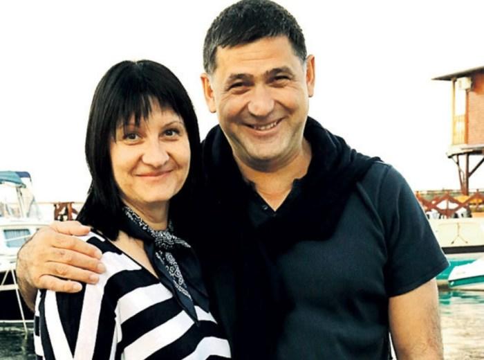 Сергей Пускепалис с любимой женой. / Фото: www.kakprosto.ru