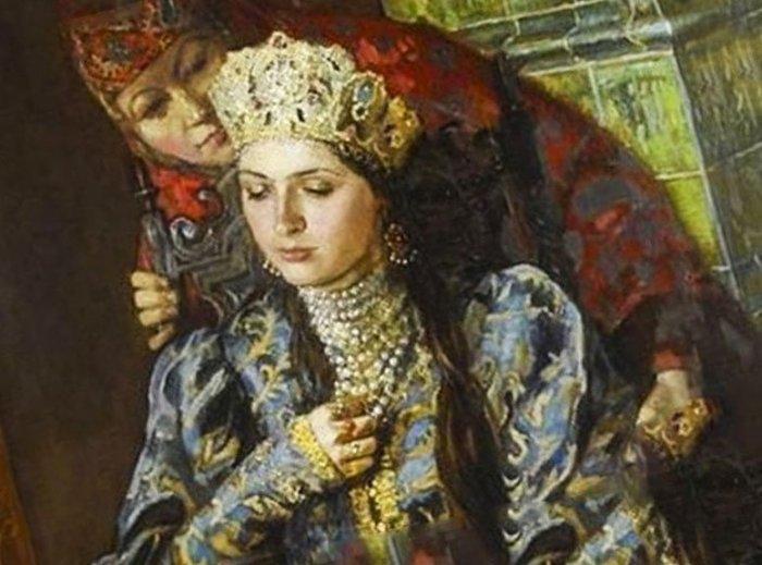 Мария Темрюковна, княжна Черкасская. / Фото: www.istoriarusi.ru