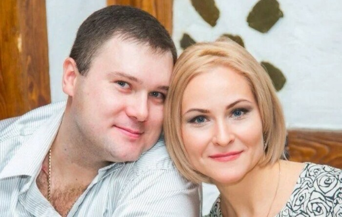 Валерия Листьева с мужем. / Фото: www.yandex.net