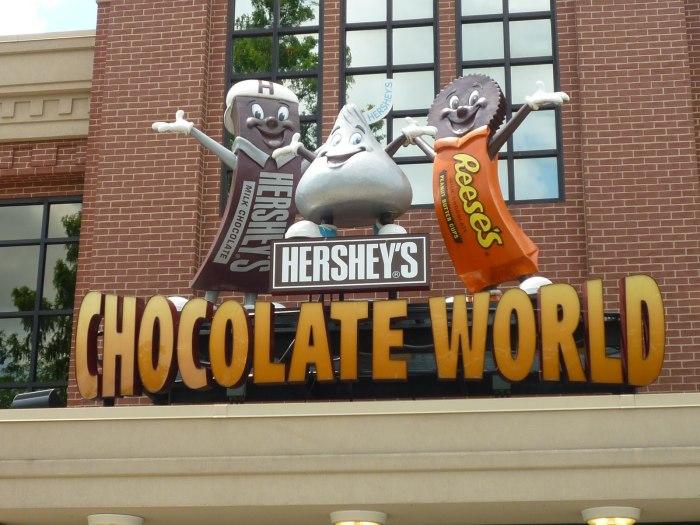 Шоколадный мир Hershey. / Фото: www.blogspot.com
