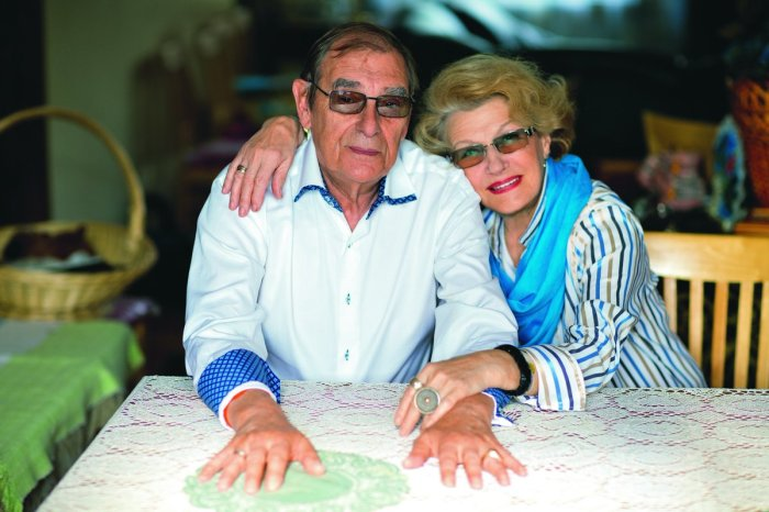 Светлана Дружинина и Анатолий Мукасей. / Фото: www.twimg.com