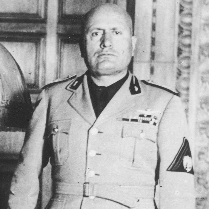 Бенито Муссолини. / Фото: www.ciekawostkihistoryczne.pl