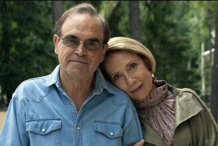 Инна Чурикова и Глеб Панфилов. / Фото: www.rusdialog.ru