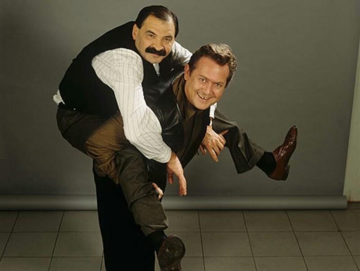 Илья Олейников и Юрий Стоянов. / Фото: www.mardentro.ru