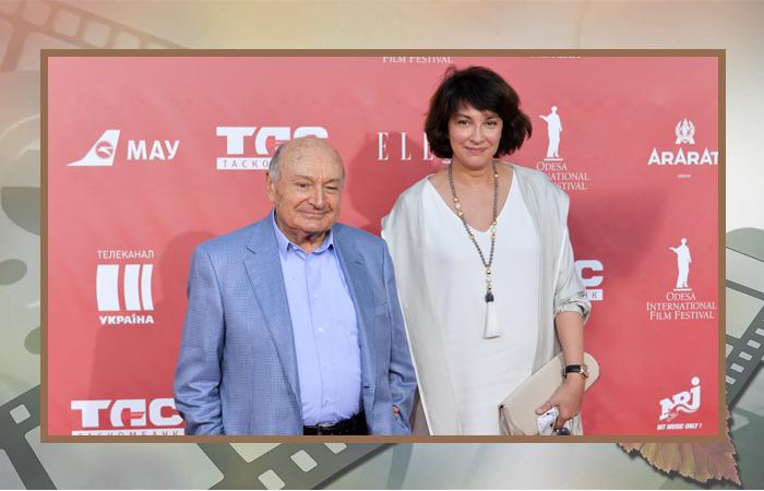 Михаил Жванецкий и Наталия Сурова.