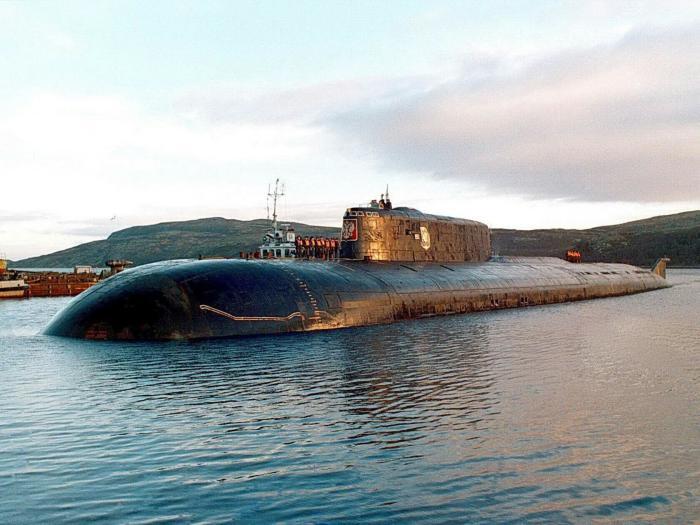 К-141 «Курск». / Фото: www.voenflot.ru