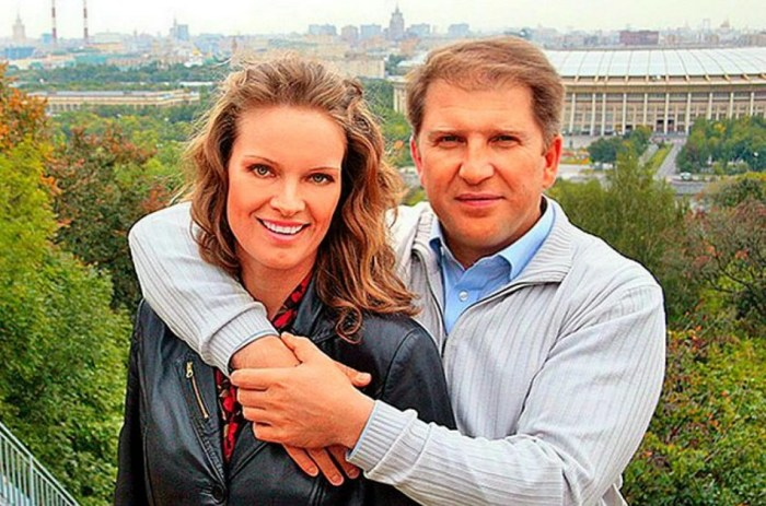Ольга Копосова с мужем, Владленом Гореликом. / Фото: www.yandex.net