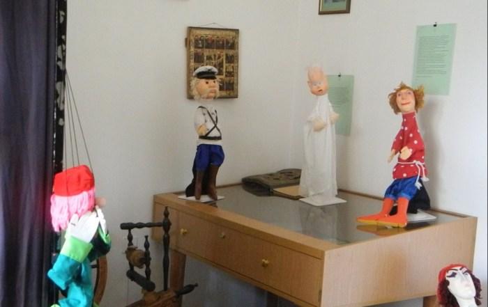 Куклы в музее-квартире Сергея Образцова. / Фото: www.otzyv.ru