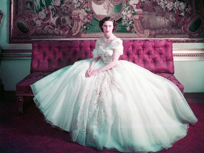 Принцесса Маргарет в тот день, когда ей исполнился 21 год. / Фото: www.londonist.com