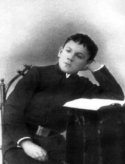 Самуил Маршак во время обучения в гимназии. / Фото: www.infourok.ru