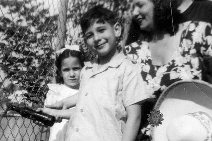 Пласидо Доминго в детстве. / Фото: www.avokadda.ru