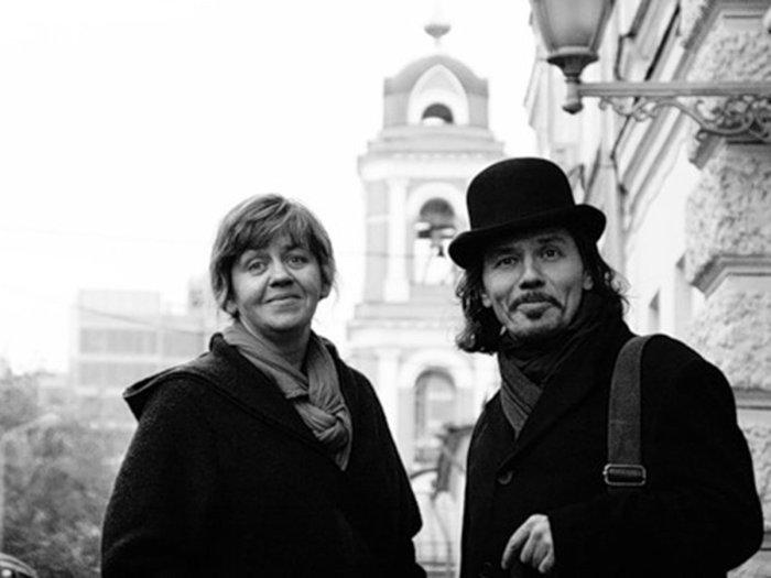 Макс Фрай (Светлана Мартынчик и Игорь Стёпин). / Фото: www.vr-vyksa.ru