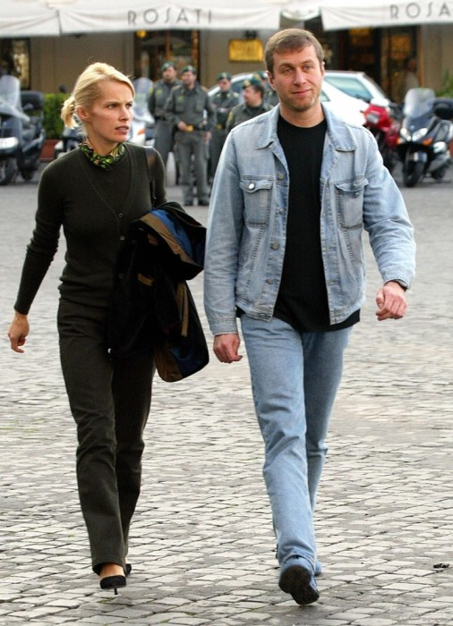 Роман и Ирина Абрамович. / Фото: www.lifepeople.info