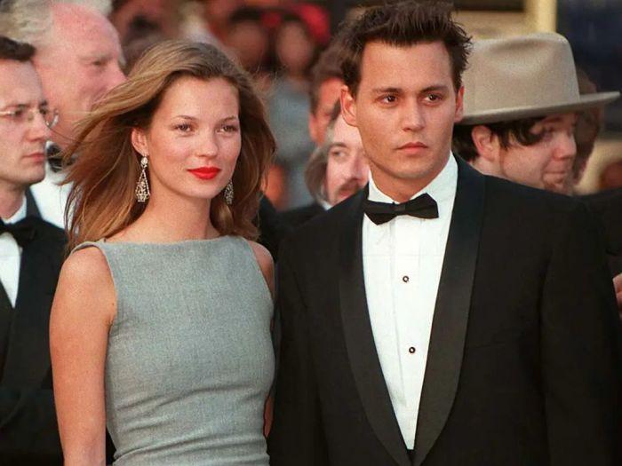 Джонни Депп и Кейт Мосс. / Фото: www.closermag.fr
